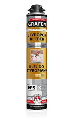 Styro adhesive foam 840 g - Grafen Professional