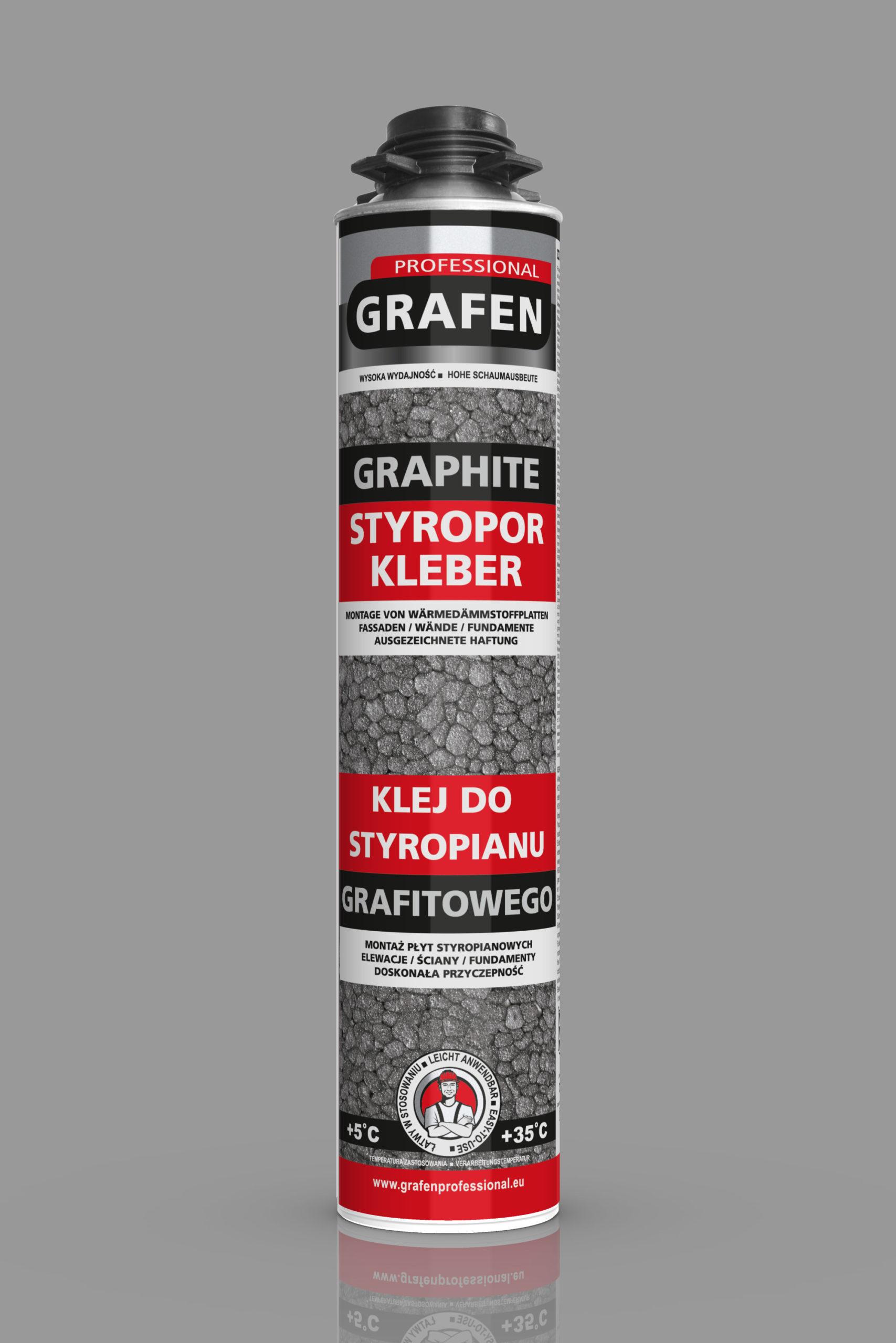Klej do styropianu grafitowego